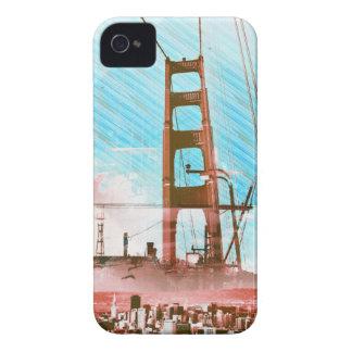 GoldengateBridge SanFrancisco Iconic Panel of Life iPhone 4 Case