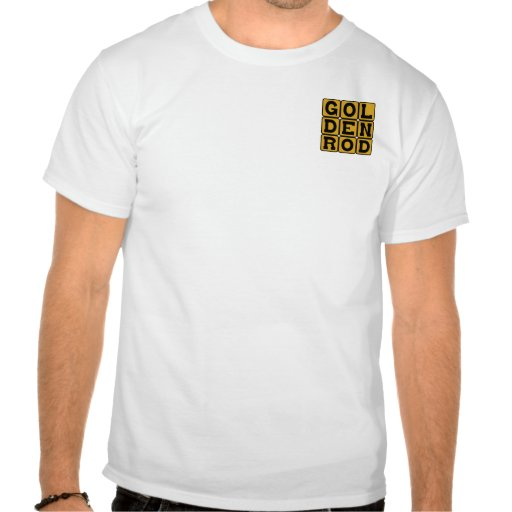 Goldenrod, Color Tees