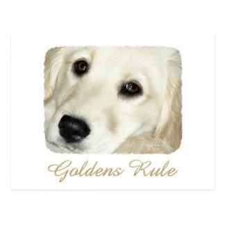Goldens Rule Postcard