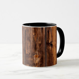 Goldfield Old West Wood Grain mug - black combo