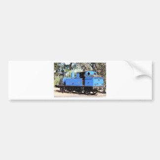 Goldfields blue steam locomotive, Australia Bumper Stickers