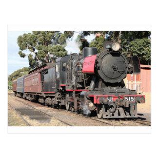 Goldfields steam locomotive, Victoria, Australia 2 Postcard