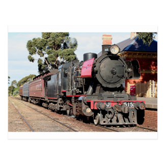Goldfields steam locomotive, Victoria, Australia Postcard