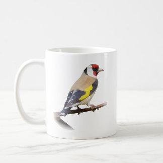 Goldfinch bird coffee mug