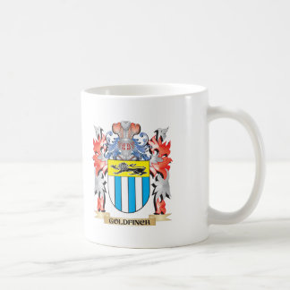 Goldfinch Coat of Arms - Family Crest Coffee Mug