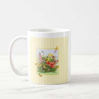 Goldfinch Garden Coffee Mug