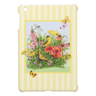 Goldfinch Garden iPad Mini Covers