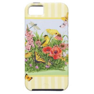 Goldfinch Garden iPhone 5 Cases