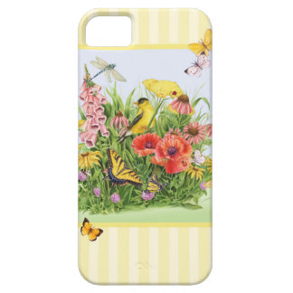 Goldfinch Garden iPhone 5 Cover