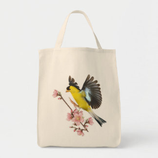 Goldfinch Grocery Tote