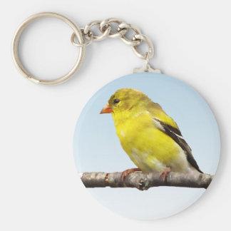 Goldfinch Key Ring