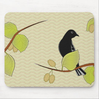 Goldfinch & Mulberry Mousepad