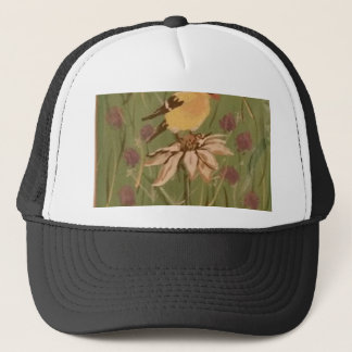 goldfinch trucker hat