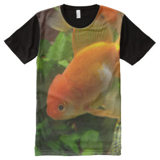 Goldfish All-Over Print T-Shirt