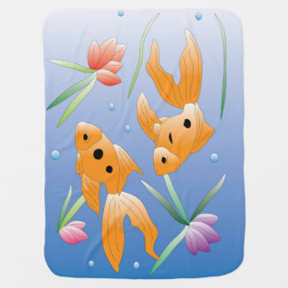 Goldfish Baby Blanket