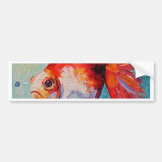 Goldfish Bumper Sticker