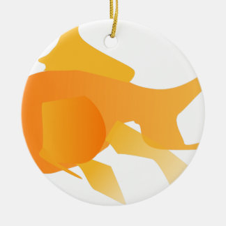 Goldfish Ceramic Ornament