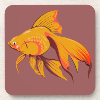 Goldfish Coaster