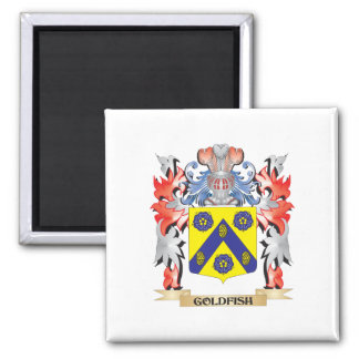 Goldfish Coat of Arms - Family Crest Magnet