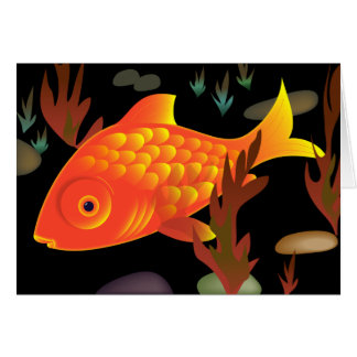 Goldfish Deep Card