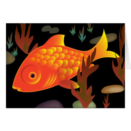 Goldfish Deep Card