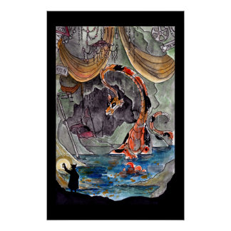 Goldfish Dragon's Lair Poster