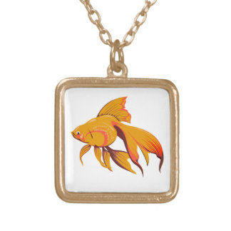 Goldfish Gold Plated Necklace