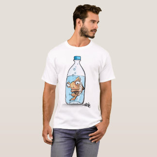 Goldfish in a bottle T-Shirt