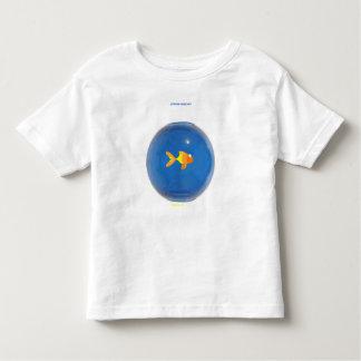 Goldfish in bowl tee shirts