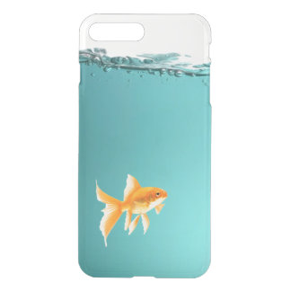 Goldfish iPhone X/8/7 Plus Clear Case