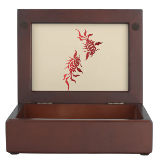 Goldfish Keepsake Box