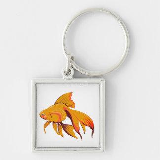 Goldfish Key Ring