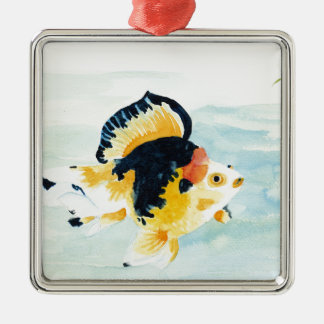 Goldfish Metal Ornament