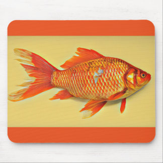 Goldfish Painting Mouse Pad