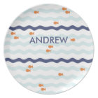 Goldfish Personalised Plate for kids