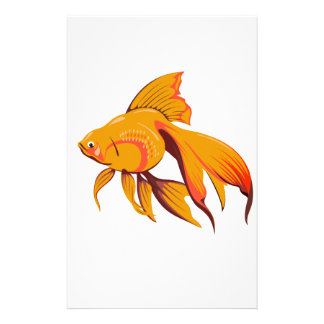 Goldfish Personalised Stationery