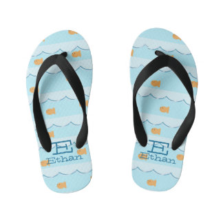 Goldfish Personalized Flip Flops