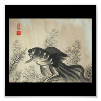 Goldfish Poster Print