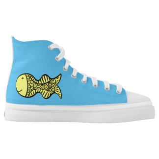 Goldfish Printed Shoes