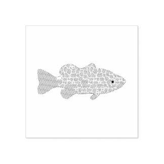 Goldfish Rubber Stamp