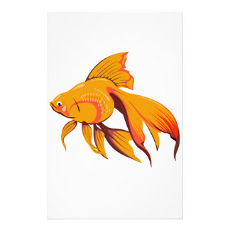 Goldfish Stationery Design