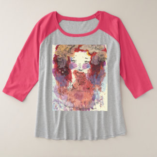 Goldfish Thoughts | Plus Size Shirt in Pink
