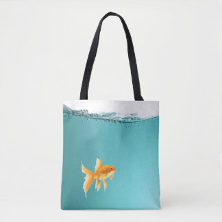 Goldfish Tote Bag All-Over Print