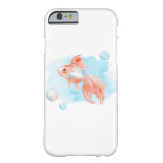 Goldfish. Watercolor Barely There iPhone 6 Case