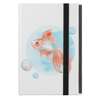 Goldfish. Watercolor iPad Mini Case