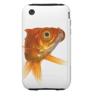 Goldfish with Big eyes 3 Tough iPhone 3 Case