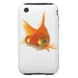 Goldfish with Big eyes Tough iPhone 3 Case