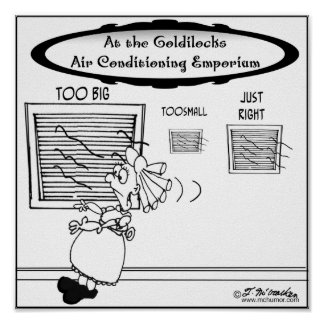 Goldilocks Air Conditioning Emporium Poster