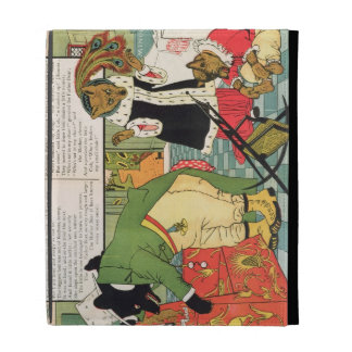 Goldilocks and the Three Bears iPad Folio Cases