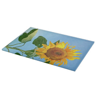 Goldilocks Sunflower Cutting Board